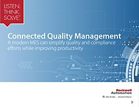 A modern MES can simplify quality and compliance efforts while improving productivity. Learn more in our free eBook.