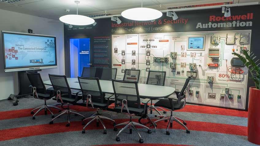 Im EMEA Kompetenzzentrum für Connected Enterprise erhalten Sie kundenindividuelle Beratung zu Industrie-4.0-Szenarien mit 360-Grad-Sicht auf das Connected Enterprise