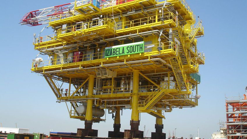 Erdgasbohrplattform erfüllt Anforderungen an Leistung und Sicherheit