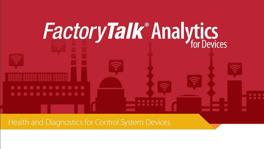 eBook: FactoryTalk Analytics for Devices: Health and Diagnostics for Control System Devices