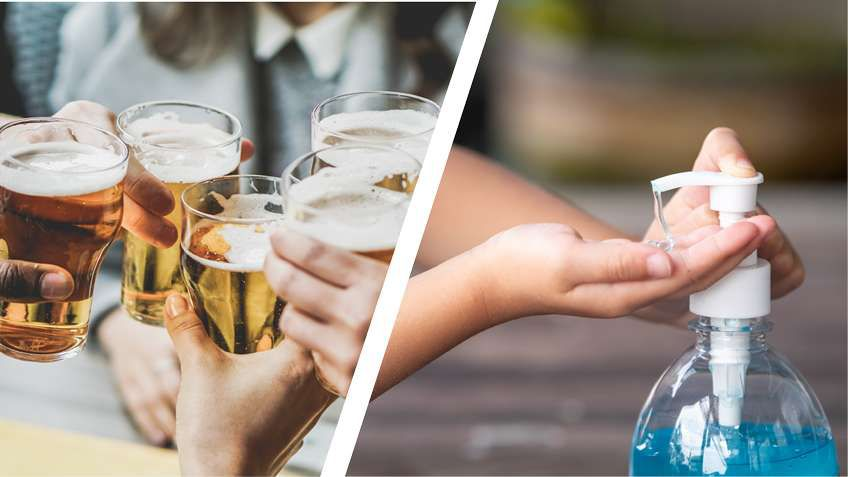BLOG: From Beer to Hand Sanitizer – Adapting to the production demands of COVID-19 can be challenging. ICT can help make manufacturing more flexible.