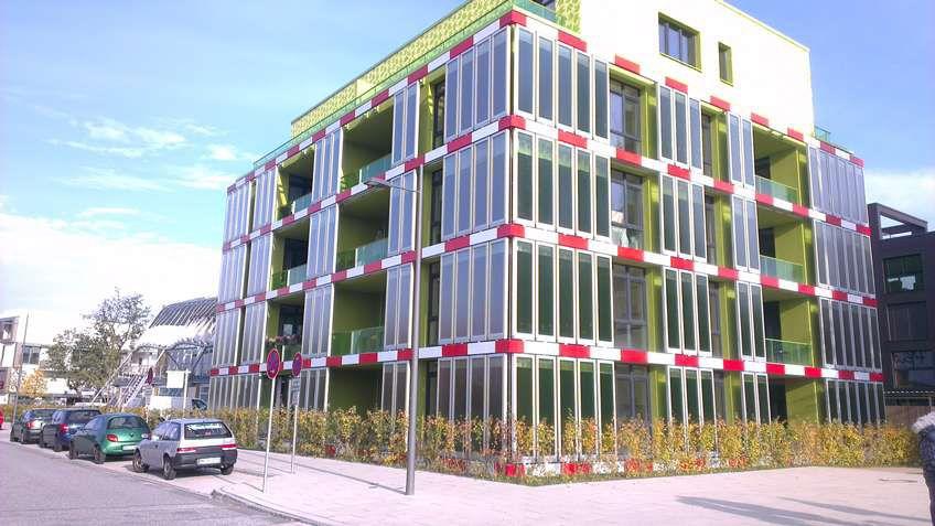 La casa de las algas: Generación de energía de algas