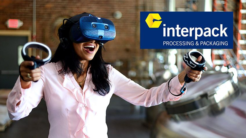 Visit us at interpack on 25 February - 3 March 2021 and experience a new world of interactivity and a whole new dimension of packaging and processing. Booth A61 – Hall 6.