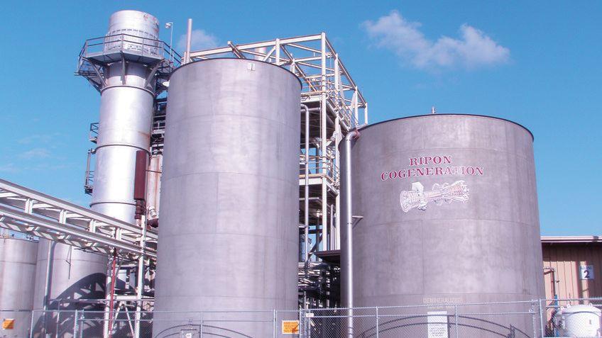 老朽化の進むDCSを廃止し新システムに切換えたガス燃焼式コジェネレーション発電所