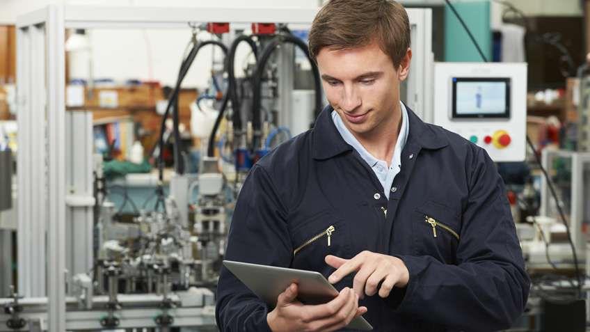 針對製造業技術支援的擴增實境